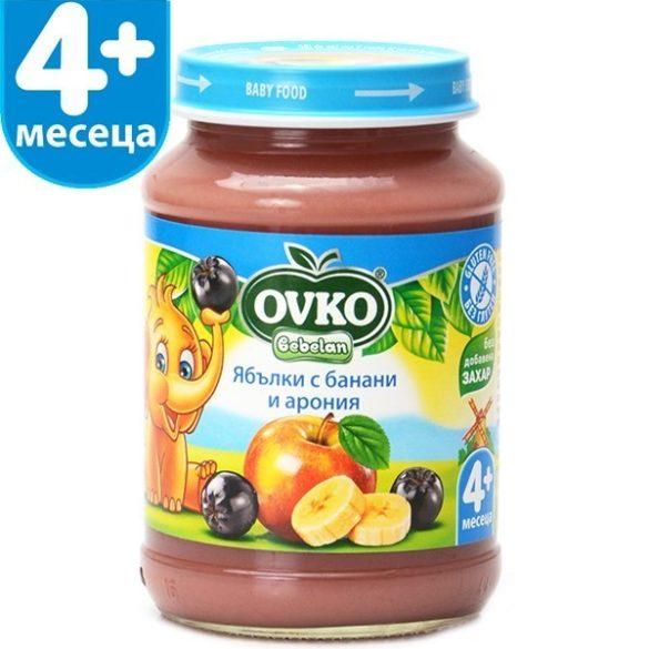 Ovko Ябълки с банани и арония