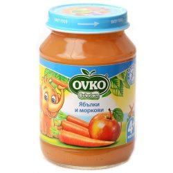 Ovko Ябълки и моркови от 4-ия месец 190 гр.