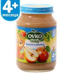 Ovko Круши и ябълки от 4-ия месец 190 гр.