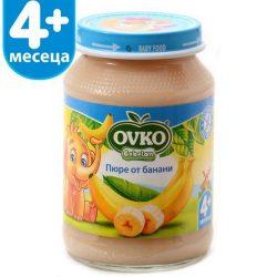 Ovko Банани от 4-ия месец 190 гр.