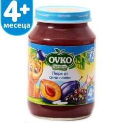 Ovko Сини сливи от 4-ия месец 190 гр.
