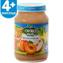 Ovko Ябълки и Кайсии от 4-ия месец 190 гр.