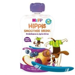 HIPP Био Смути ябълка.круша и боровинка