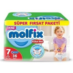 Molfix / Молфикс гащи 7 (19+кг) 36бр.