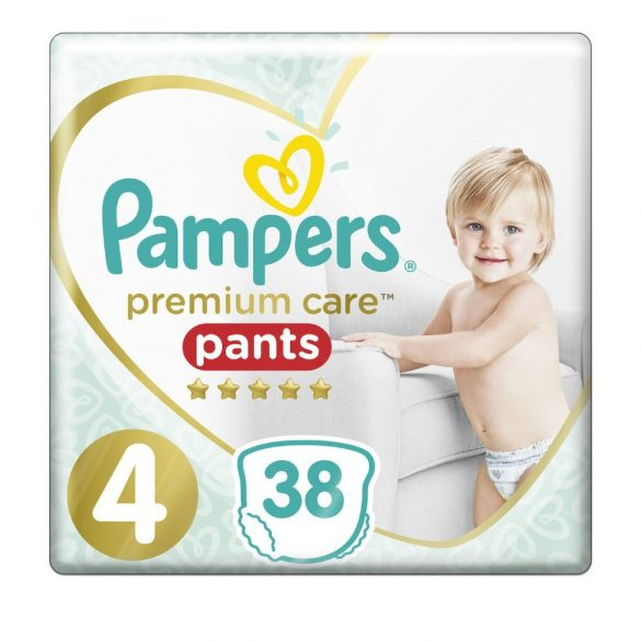PAMPERS PREMIUM CARE Гащи 4 - (9 - 15 кг) 38 бр.
