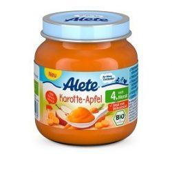 Nestlé Alete БИО Ябълка и морков