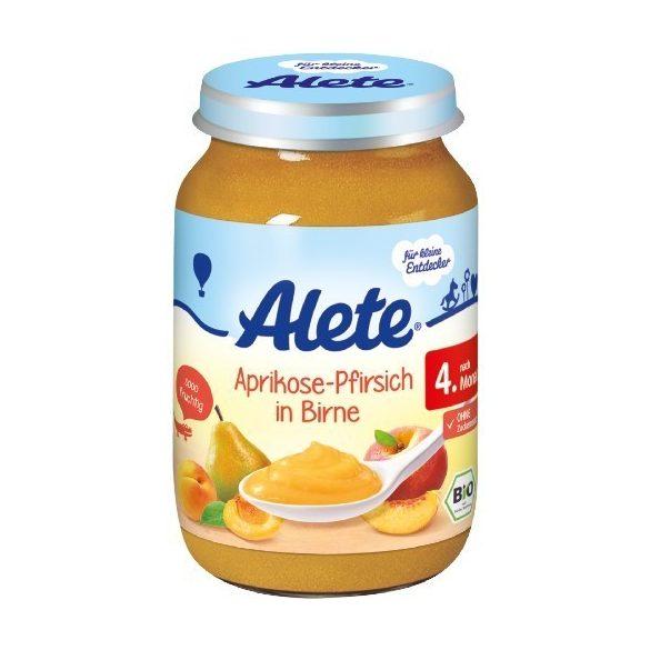 Nestlé Alete БИО Кайсия и праскова с круша