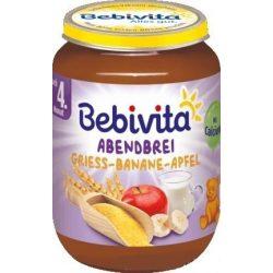 Bebivita Каша Лека нощ Грис банан и ябълка