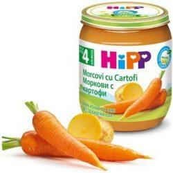 HIPP БИО Ранни моркови с картофи