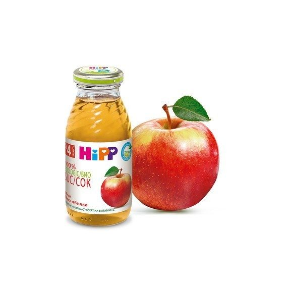 HIPP БИО Сок от мека ябълка