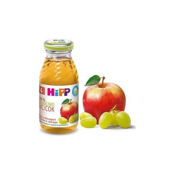 HIPP БИО Сок от ябълки и грозде