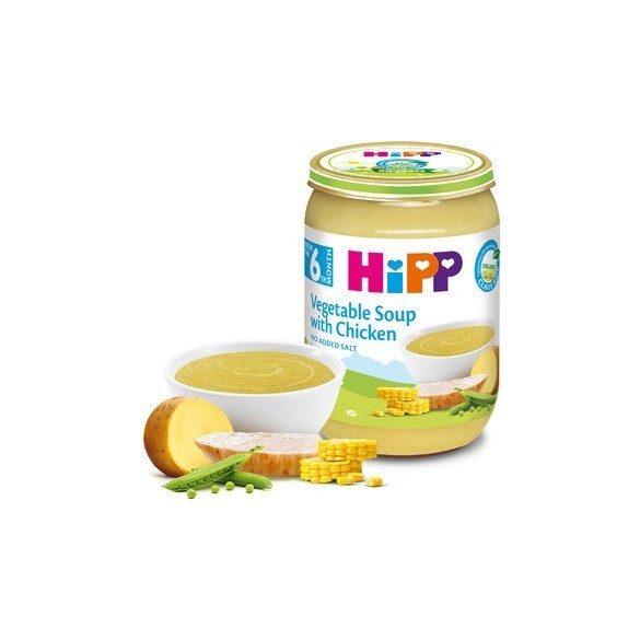 HIPP БИО Зеленчукова супа с пиле