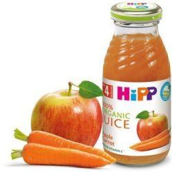 БИО Сок от ябълки и моркови