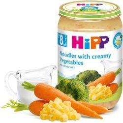 HIPP БИО Макарони със зеленчуци и сметана