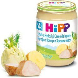 HIPP  Картофи с копър и заешко месо 4м