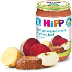 HIPP БИО Телешко с цвекло, зеленчуци и ябълка