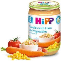 HIPP БИО Макарони с шунка и зеленчуци