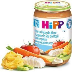 Hipp Спагети с риба и зеленчуци в доматен сос 12м