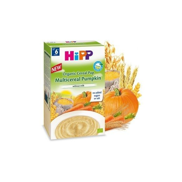 HiPP Био многозърнеста каша с тиква