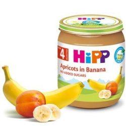 HIPP  КАЙСИИ С БАНАН 125гр