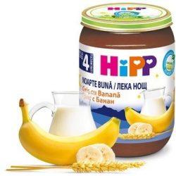 HIPP БИО Млечна каша грис банан