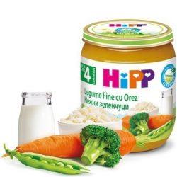 HIPP БИО Нежни градински зеленчуци с ориз