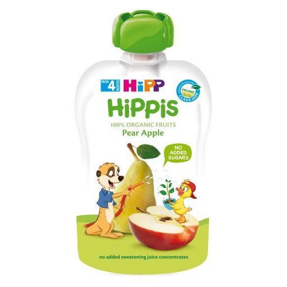 HIPP Био Плодова закуска круша и ябълка 100г