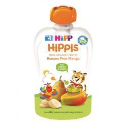 HIPP Био Плодова закуска круша банан и манго  100гр