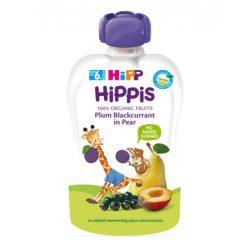HIPPIS БИО Плодова закуска сливи с касис и круши