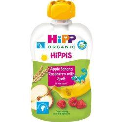 HIPP Плодова закуска Ябълка,банан,малина с пълнозърнести култури