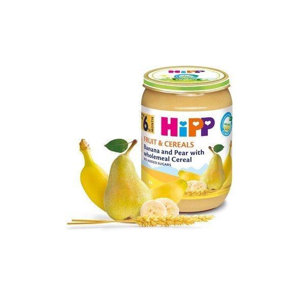 HIPP БИО Круша и банан с пълнозърнести култури