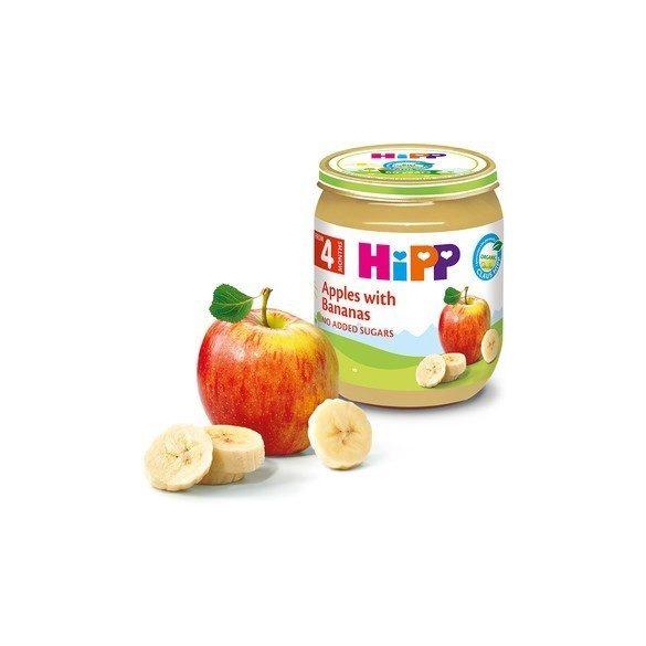 HIPP БИО Ябълки с банани