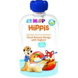 HiPP - Био плодова закуска от  банан, манго и йогурт