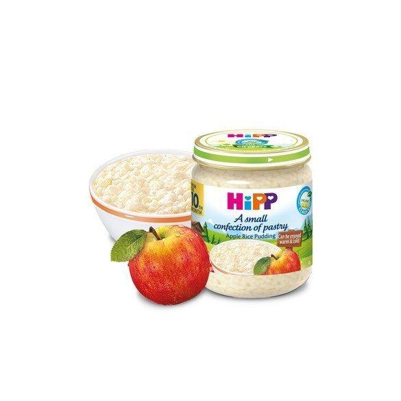 БИО Мляко с ориз и ябълка