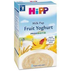 Млечна каша плодове с йогурт
