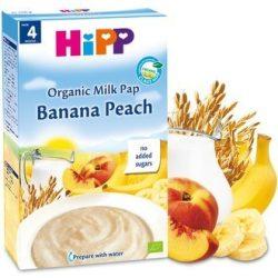 БИО млечна каша банан и праскова