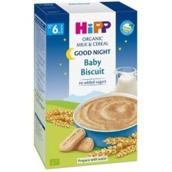 "HIPP Био инстантна млечна каша ""Лека нощ"" Бисквити"