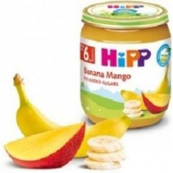 HIPP BIO БАНАН КРУША И МАНГО  125гр