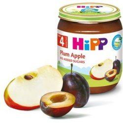 HIPP БИО Сливи и ябълки