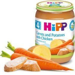 HIPP БИО Моркови и картофи с пиле