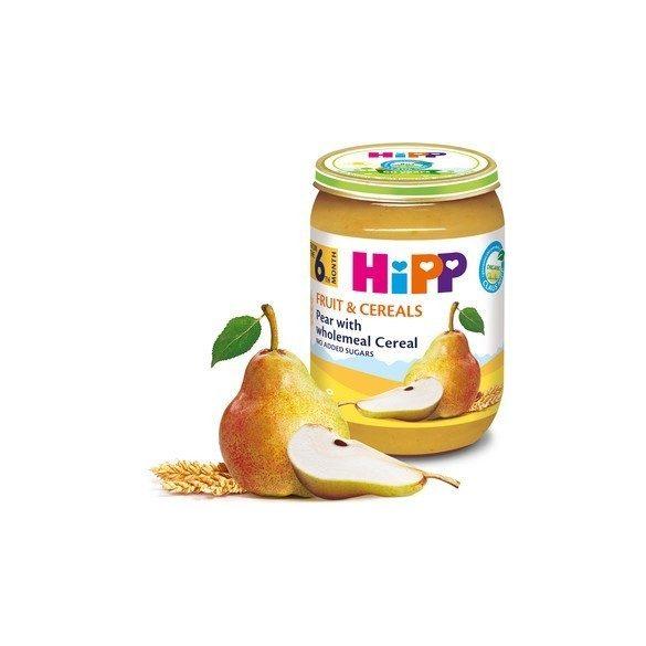 HIPP БИО Пълнозърнеста каша с круши