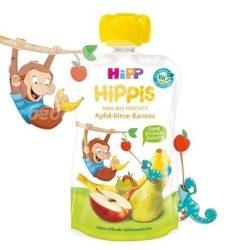 HIPP Био Плодова закуска Ябълки,круши и банан