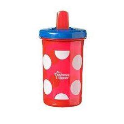 Неразливаща се чаша със сгъваем накрайник Tommee Tippee 300 мл, 6м+ Червен