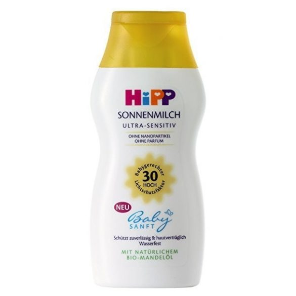 HIPP Слънцезащитно мляко,SPF30