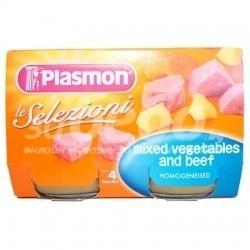 Plasmon Говеждо със зеленчуци