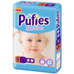 Pufies Sensitive 6 /13+ кг/ 66 бр  НОВО