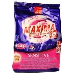 Sano Прах за пране Sano Maxima - Sensitive - 1.25 кг.