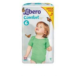 Libero EcoTech Comfort Fit-6 (12-22кг.)72БР.