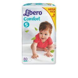 Libero EcoTech Comfort Fit-5 (10-16кг.)80БР.