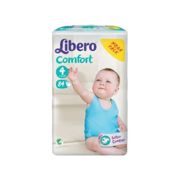Libero EcoTech Comfort Fit-4 (7-14кг.)84БР.